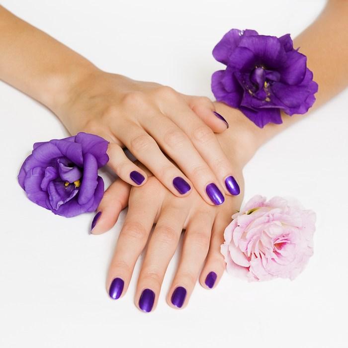 lila uv gel Lila Metallic UV Gel